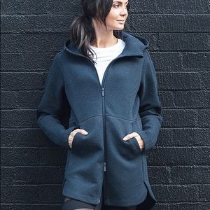 Size 10 Lululemon Going Places Hooded Jacket in black